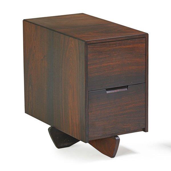 GEORGE NAKASHIMA Rosewood file cabinet