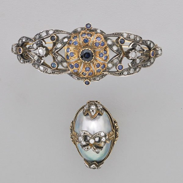 INDIAN BAROQUE STYLE BRACELET AND RING