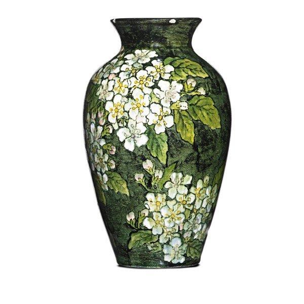 JOHN BENNETT Small vase with wild roses