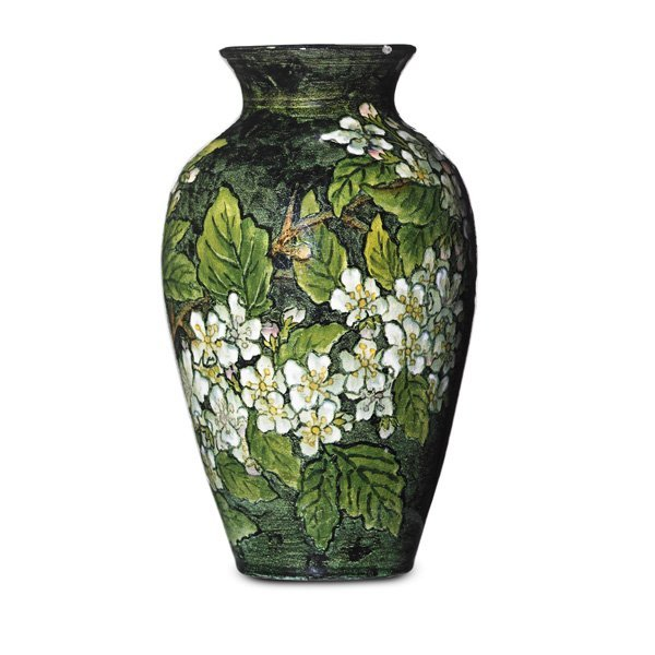 JOHN BENNETT Small vase with wild roses - 2