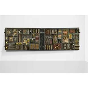 PAUL EVANS Important Sculpture Front cabinet