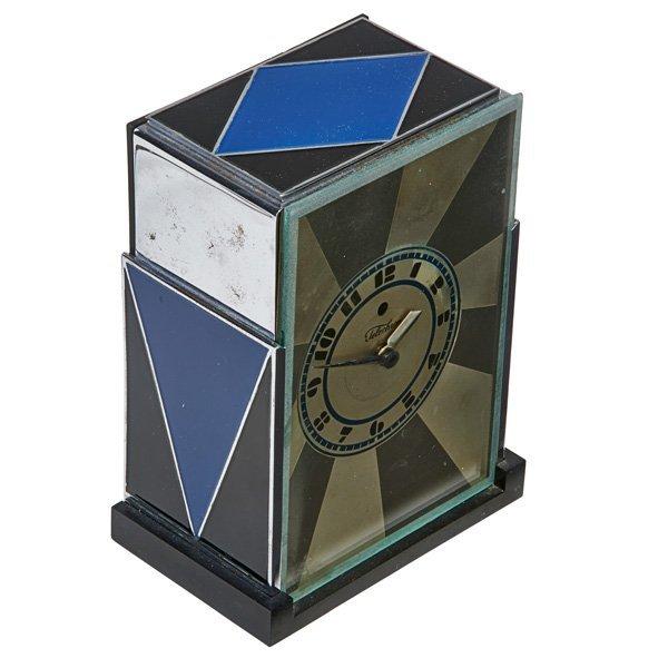 PAUL FRANKL; WARREN TELECHRON Modernique clock