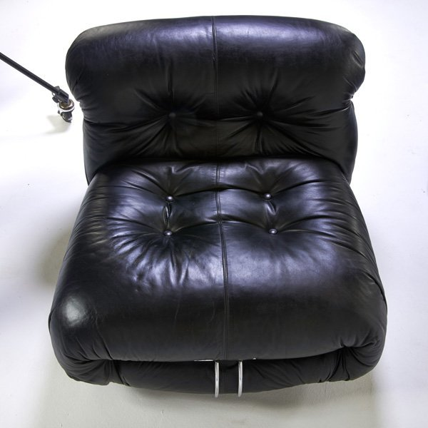 TOBIA SCARPA; CASSINA Soriana sofa, lounge chair - 3