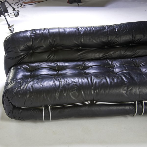 TOBIA SCARPA; CASSINA Soriana sofa, lounge chair - 5