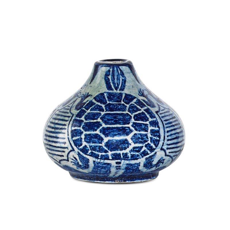 E. DE HOA LeBLANC; NEWCOMB COLLEGE Miniature vase