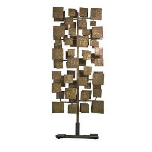 HARRY BERTOIA Monumental Sculpture Screen