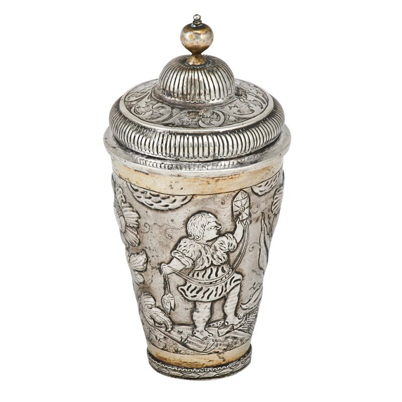 EARL OF SOUTHESK 18TH CENTURY RUSSIAN SILVER CUP