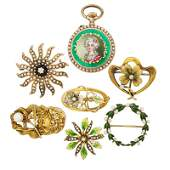 COLLECTION BELLE EPOQUE GOLD & SEED PEARL JEWELS