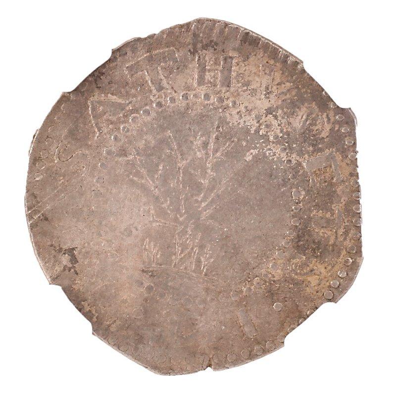 U.S. 1652 MASSACHUSETTS GHOST OAK TREE $1.00 COIN