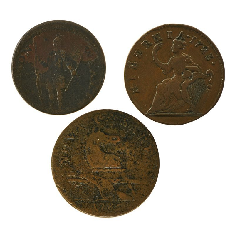 U.S. COLONIAL COINAGE