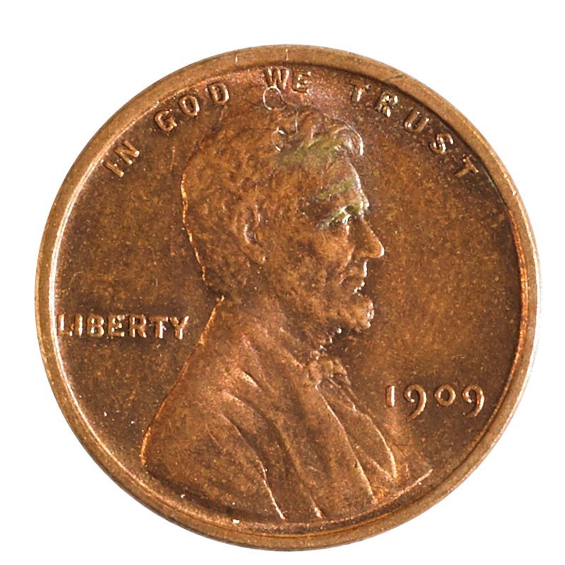 U.S. 1909-VDB 1C COINS