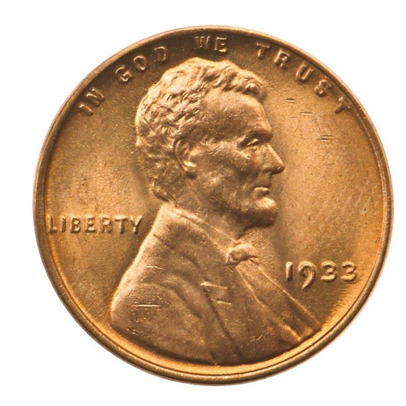 U.S. 1933 1C COINS