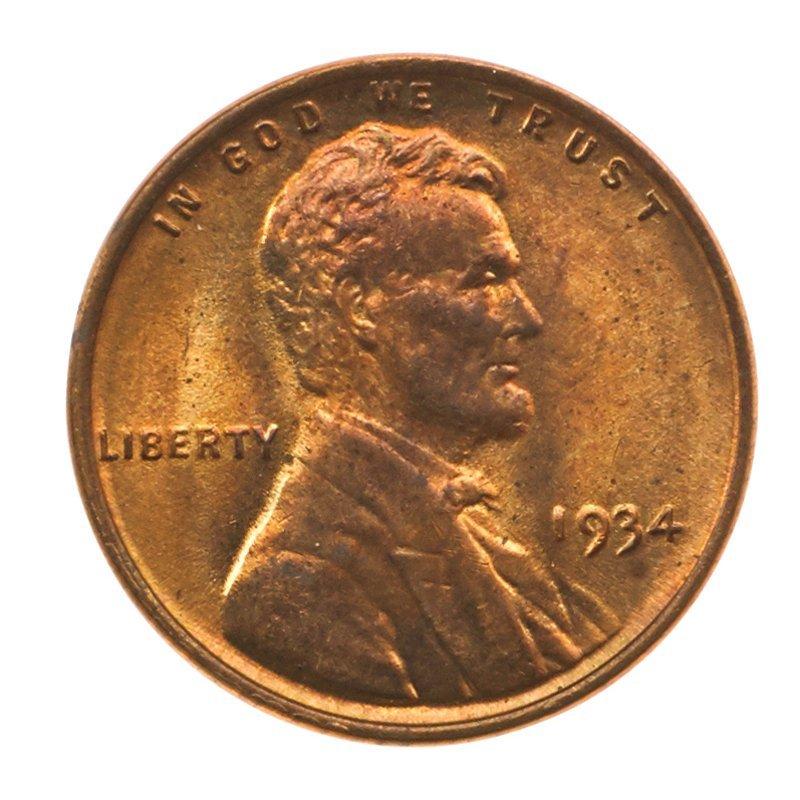 U.S. 1934 1C COINS