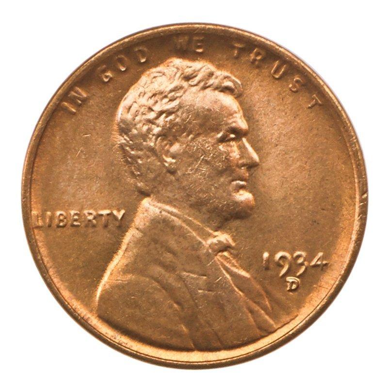 U.S. 1934-D 1C COINS