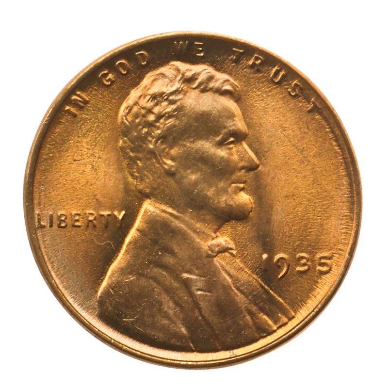 U.S. 1935 1C COINS