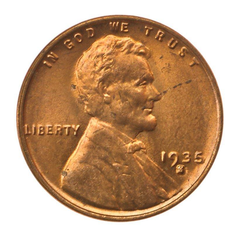 U.S. 1935-S 1C COINS