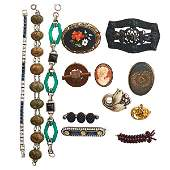 COLLECTION OF VICTORIAN, EARLY 20TH C. JEWELRY
