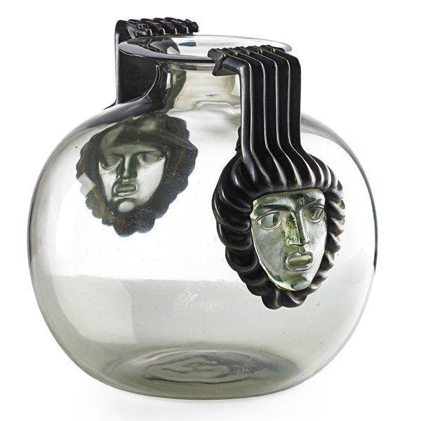 """LALIQUE Rare """"Cluny"""" vase"""