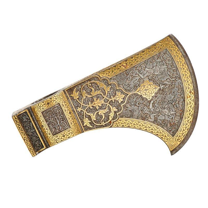 PERSIAN TABAR ZIN AXE HEAD