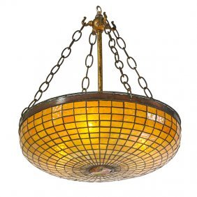Tiffany Studios Ceiling Lamp