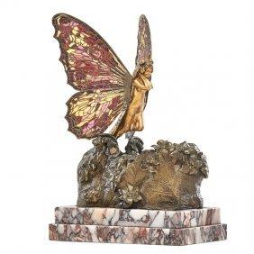 "Carl Kauba Fine Sculpture, ""metamorphosis"""