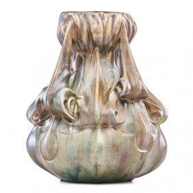 Ernest Bussiere Artichoke Vase