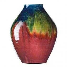 Atwood & Grueby Rare Large Vase