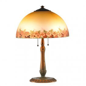 Handel Table Lamp, Floral Shade