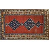 CAUCASIAN KAZAK Hand-knotted rug