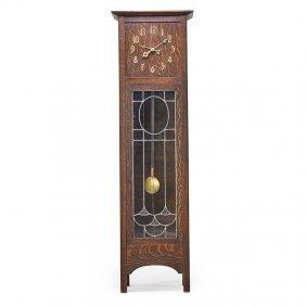 Arts & Crafts Grandfather Clock