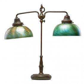 Tiffany Studios Large Desk Lamp