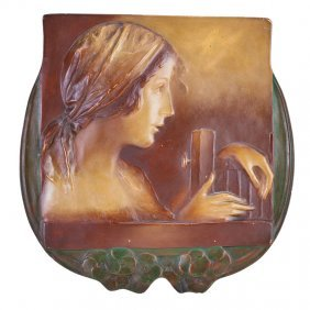 Ernst Wahliss Amphora Plaque