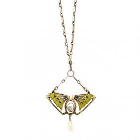 Heinrich Levinger Jugendstil Necklace