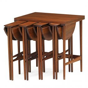 Bertha Schaefer; Singer Nesting Tables
