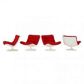 Geoffrey Harcourt; Artifort Four Lounge Chairs