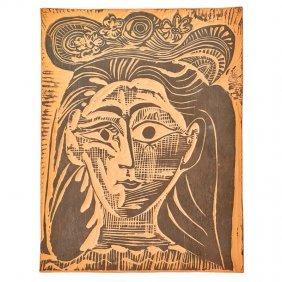 Pablo Picasso; Madoura Rare Plaque