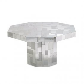 Paul Evans; Directional Cityscape Dining Table