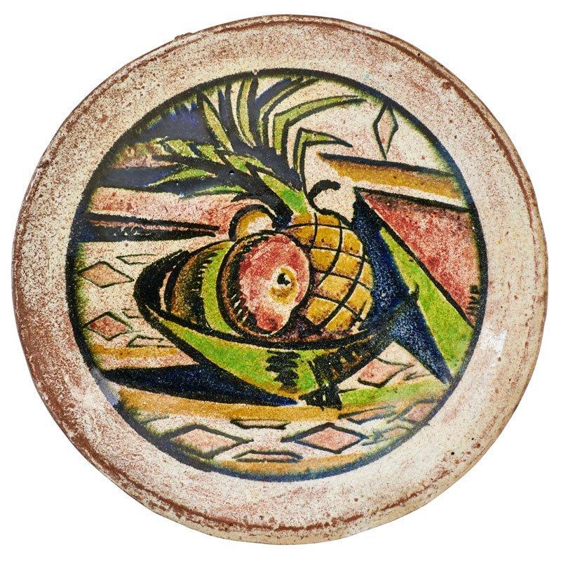 HENRY VARNUM POOR Plate w/ still life