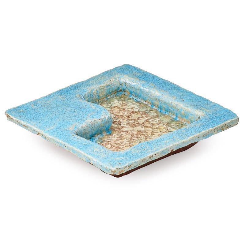 GLEN LUKENS Small square bowl