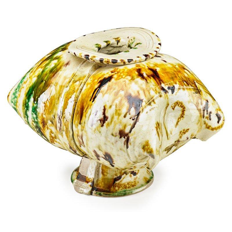 BETTY WOODMAN Early pillow vase