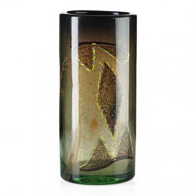 Dale Chihuly Early Blanket Cylinder