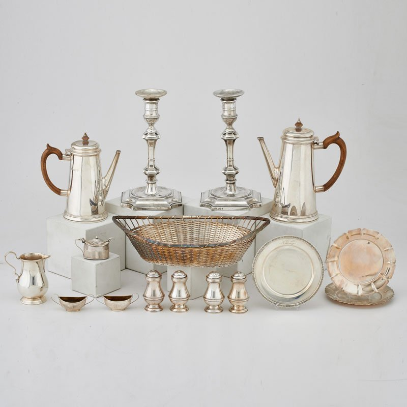 SILVER AND SILVERPLATE GROUP