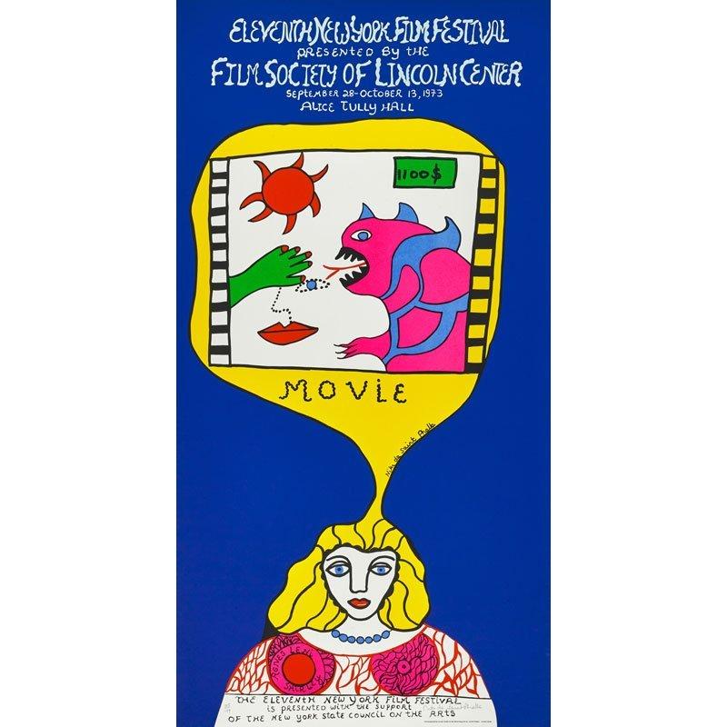 NIKI DE SAINT PHALLE (French, 1930-2002)