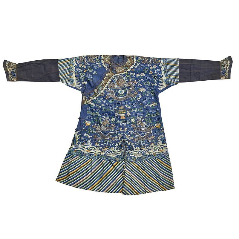 CHINESE SILK IMPERIAL ROBE