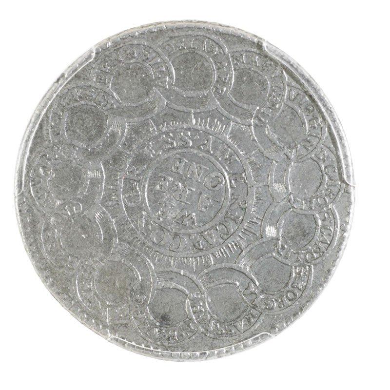 1776 PEWTER CONTINENTAL DOLLAR