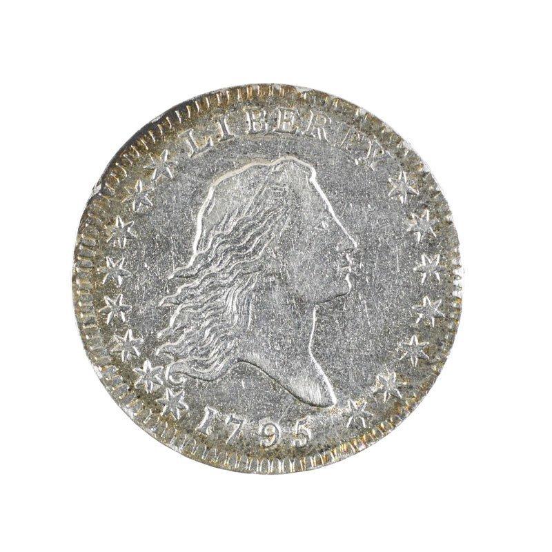 U.S. 1795 DRAPED BUST 50C
