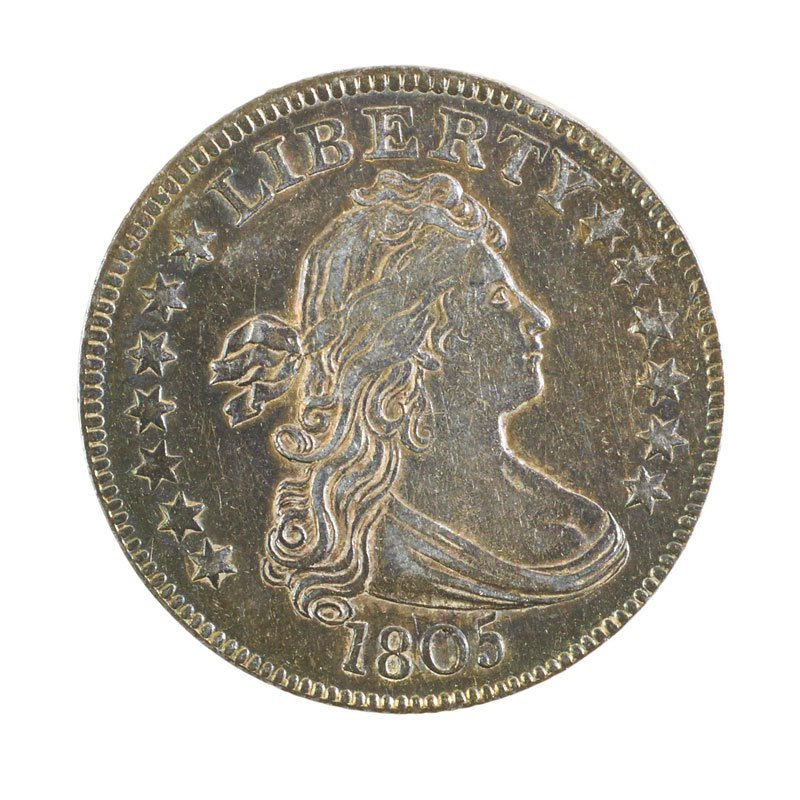 U.S. 1805 DRAPED BUST 25C