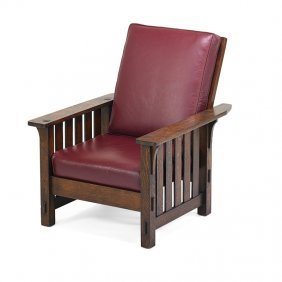 Charles Stickley (attr.) Morris Chair