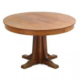 L. & J.g. Stickley Dining Table