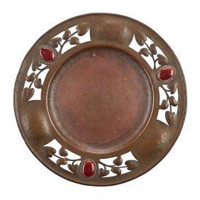 Potter Studio Enameled Copper Plate